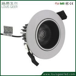 Ménage 7W décoratifs encastré ajustable 15W 20W 30W à LED Spot de plafond Dispositif d'éclairage