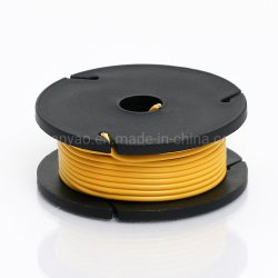 Cubierta de silicona Odseven núcleo recubierto de caucho - 25ft cable 26AWG mayorista amarillo