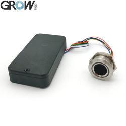 Scheda di controllo per impronte digitali 4*AAA DC6V Grow K236-a+R503 con custodia per batteria