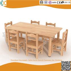 Vorschulvierecks-Tisch-feste Buche-Möbel für Kinder