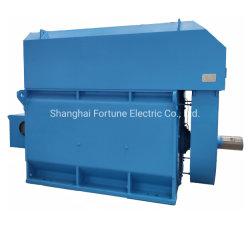 Canna da zucchero, cemento, macchina laminatrice in acciaio motore AC ad alta tensione con anello di sicurezza rotore avvolto per impieghi pesanti