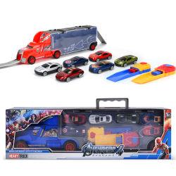 10354526 camiones contenedores de aleación modelo de coche de carreras de vehículos de juguete fundido