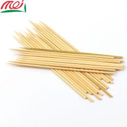 Usage de la cuisine fine brochette de chien de maïs de bambou ronde Stick