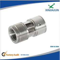 Los adaptadores de tubos de la válvula del cilindro, colocación de tubos y componentes neumáticos