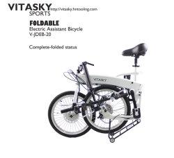 20 дюйм шины Ce/EN15194 TUV специалист в области спорта без помощника 6 скорости на велосипеде складной велосипед складной E-велосипед электрический велосипед для скутера