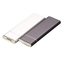 Interfaccia rigida semi conduttrice esterna M. 2 Ngff del USB di Typec USB3.0 della casella del disco del disco rigido del taccuino mobile della casella micro