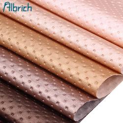 Meubles décoratifs européens cuir artificiel de mur de fond en cuir en PVC de package