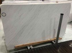 Lajes de alta qualidade em mármore branco Ariston cortados em ladrilhos para revestimento de piso Parede Banho de cozinha