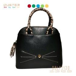 Мода сумки сумки через плечо женщины дамской сумочке женщин женская сумка леди сумки Сувениры коллектора Skill Без шарфа стиле моды принадлежности с Cat сшивка