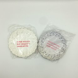 Custom Oil-Absorbing descartáveis de filtro de papel Lace Doilies