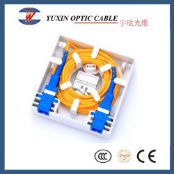 Оптические окна Termintion FTTH 86 Тип 2 основных портов оптическое волокно с панелью для мини-производителя