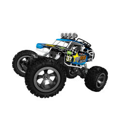 جهاز التحكم عن بعد عالي السرعة شاحنة قصيرة ذات دفع رباعي لتسلق السيارة سيارة كهربائية ألعاب للأطفال
