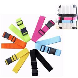 Cinghia variopinta dei bagagli, Texile personalizzabile bianco/nero/verde/grigio/colore rosa/cinghia viola dei bagagli