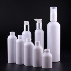 Color blanco de la Ronda de Boston 30ML 100ml 200 ml 250ml 300 ml 500ml botella de PET de plástico sin imprimir.