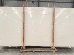 Het natuurlijke Kalksteen van de Room van de Steen witte/beige opgepoetste/geslepen voor vloer/muurplakken/tegels/countertops/treden/vensterbanken/kolom/mozaïekbinnenlanddecoratie