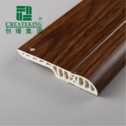 Pvc Skirting Board van Flooring Accessories voor Wood Flooring