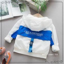2019 Новый летний отдых детей одежду колпачковая дышащая куртка