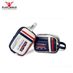 Commerce de gros PU Matreial plus grande capacité Mini balle de golf sac pochette