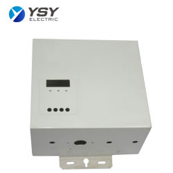 L'intérieur de distribution électrique fixé au mur de métal/interrupteur Cabinet Conseil/ boîte