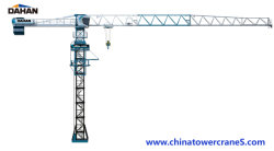 10ton peso de carregamento Topless grua-torre H6516