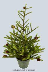 O Natal planta artificial Angel Pine Tree com potenciômetro para decoração (39235)
