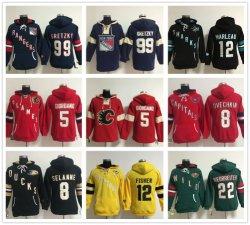 Las nuevas camisetas Hockey Mens Impresión Sudadera con capucha ropa deportiva casual Jersey