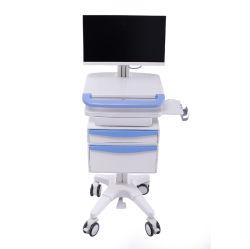 Hospital Medical Mobile Workstation computer Trolley Nursing Record Trolleys