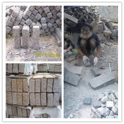 내추럴 그레이/블랙/레드/옐로우/바솔트/그래나이트 연석/굴곡진 코블/큐브스톤/코블/큐빅/동굴/포장/포버 스톤/진입로/정원용 현석
