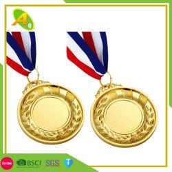 Aufkleber auf unbelegtem Goldfußball Cusyomized Firmenzeichen-Drucken-Medaillen-Geschenk des Tennis-3D (312)