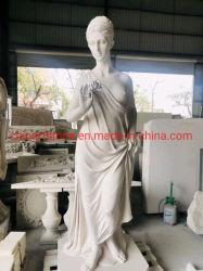 White esculpir a pedra estátua de mármore