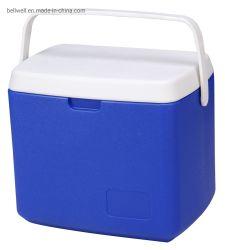 Пластиковой изоляцией охладителя 30L открытый лед в салоне портативный пиво может питьевой охладителя