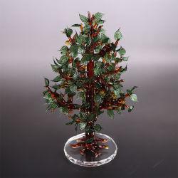 Árbol de Navidad regalos de cristal de vidrio