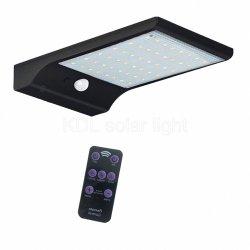 48 LED 500 лм лампа солнечной энергии человеческого тела индуктивные настенный светильник 3 режима яркости во дворе в Саду путь с помощью пульта дистанционного управления IP65