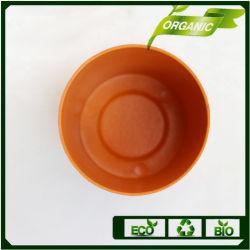 Fibre de bambou biodégradable écologique Pot de fleur avec une haute qualité
