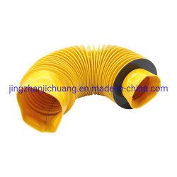 Compteur d'acier de haute qualité conduit d'air de bride d'une réponse douce canevas flexible du connecteur du conduit d'ronde Connexion souple