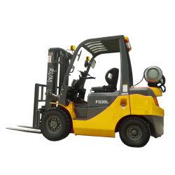 Сертификат 3.0ton EPA/3000кг дизельного/газ/Газовый погрузчик 3m/4,5 м/5m/6м высота подъема, с японским Isuzu/Nissan и Mitsubishi двигатель с устройством бокового смещения