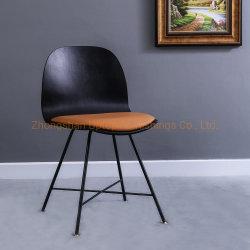 Le contreplaqué de haute qualité fait sur mesure en acier plié siège chaise de salle à manger pour l'hôtel