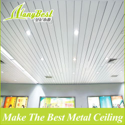 Venta caliente en el techo de aluminio en forma de C de Gaza para Hall, Mall