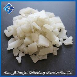 Gránulo de hojuela Non-Ferric grado alimenticio en polvo de sulfato de aluminio de 15,6% 16% de sulfato de aluminio de 17%