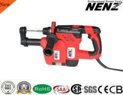 Nenz 900W Alimentation CA des outils outil électrique avec extracteur de poussière Marteau rotatif