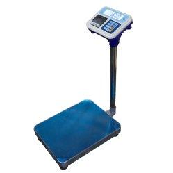 Báscula de plataforma con la impresora térmica