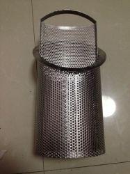 CNC che perfora perforando il cestino del setaccio della rete metallica per il trattamento delle acque
