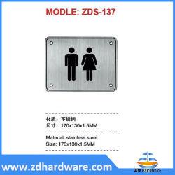 Stele in acciaio inox - cartello di segnalazione Accessori per toilette Accessori per toilette