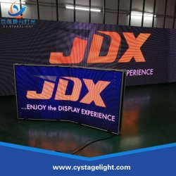 Pantalla LED de Mover/Publicidad/fase pantalla LED plegable con vuelos