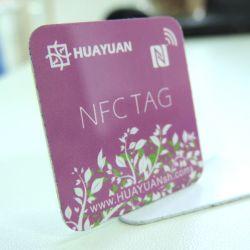 カスタムプログラム可能なISO14443A 13.56MHz NTAG213 PVC RFID NFCステッカー