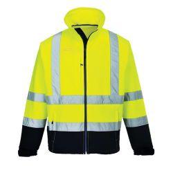 Het milieuvriendelijke Waterdichte Jasje Workwear van de Verkeersveiligheid van de Polyester Weerspiegelende