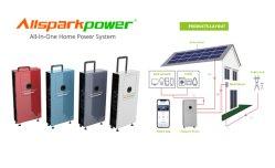 Produtos de energia solar de 3 KW de Potência 4.8Kwh Packs para Alimentação do Sistema Solar Home