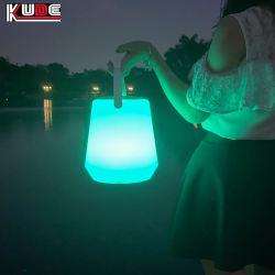 بلاستيك 16 لون تغيير LED لون ضوء Bluetooth مكبر صوت للموسيقى والديكور