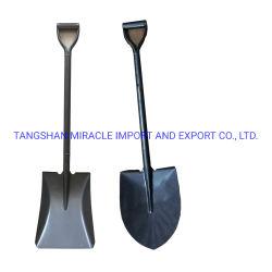 Fabriek Direct Steel Handle All Metal Shovel Laded Square Schop S518my Shovel 2kg voor de Indiase markt