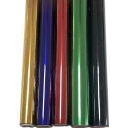 Type spécial de Silver & Gold Feuille de marquage à chaud pour le plastique PP, PE & Film doux au toucher